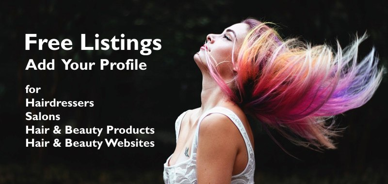free hairdresser profile listing